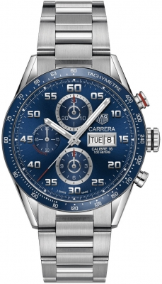 Tag Heuer Carrera Day Date Automatic Chronograph 43mm cv2a1v.ba0738