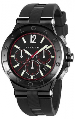 Bulgari Diagono Ultranero Chronograph 42mm dg42bbscvdch/1