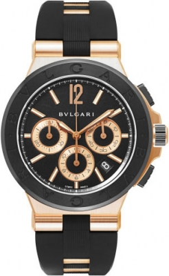 Bulgari Diagono Chronograph 42mm 101987