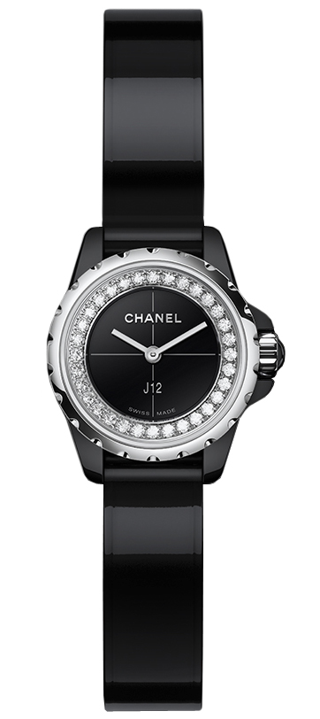 is watches full watch s chrono itm loading chronograph genuine chanel image ceramic size