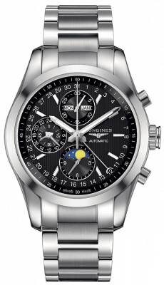 Longines Conquest Classic Chronograph Moonphase 42mm l2.798.4.52.6