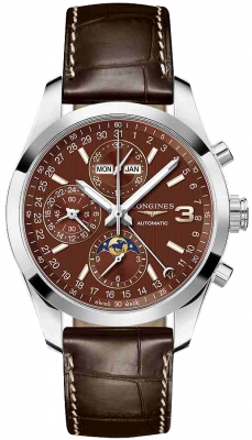 Longines Conquest Classic Chronograph Moonphase 42mm l2.798.4.62.3