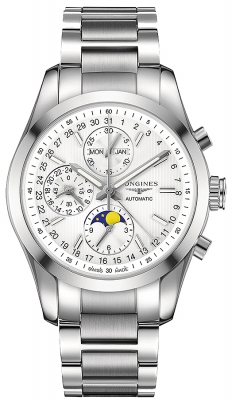 Longines Conquest Classic Chronograph Moonphase 42mm L2.798.4.72.6