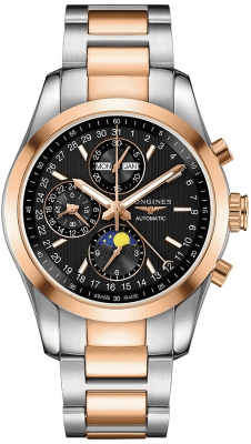 Longines Conquest Classic Chronograph Moonphase 42mm L2.798.5.52.7