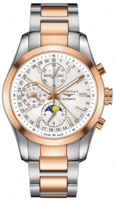 Longines Conquest Classic Chronograph Moonphase 42mm l2.798.5.72.7