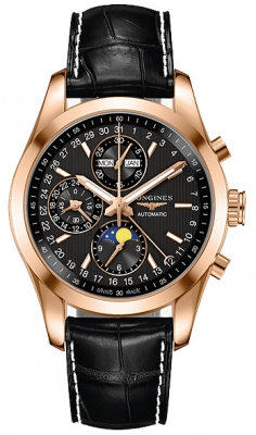 Longines Conquest Classic Chronograph Moonphase 42mm l2.798.8.52.3