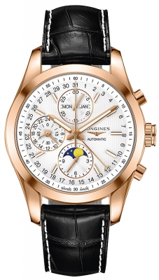 Longines Conquest Classic Chronograph Moonphase 42mm l2.798.8.72.3