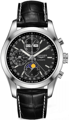 Longines Conquest Classic Chronograph Moonphase 42mm l2.798.4.52.3