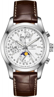Longines Conquest Classic Chronograph Moonphase 42mm l2.798.4.72.3