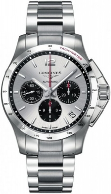 Longines Conquest Automatic Chronograph 44.5mm L3.697.4.06.6