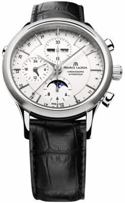 Maurice Lacroix Les Classiques Chronograph Day Date Phase de Lune lc6078-ss001-13e