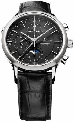 Maurice Lacroix Les Classiques Chronograph Day Date Phase de Lune lc6078-ss001-33e