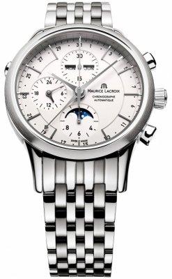 Maurice Lacroix Les Classiques Chronograph Day Date Phase de Lune lc6078-ss002-13e