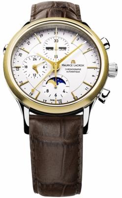 Maurice Lacroix Les Classiques Chronograph Day Date Phase de Lune lc6078-ys101-13e