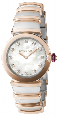 Bulgari Lucea Quartz 28mm lu28wspgspg/12