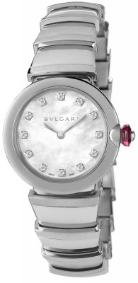 Bulgari Lucea Quartz 28mm lu28wss/12