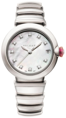 Bulgari Lucea Automatic 33mm lu33wssd/11
