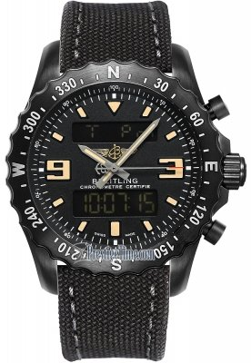 Breitling Military Watch in Black