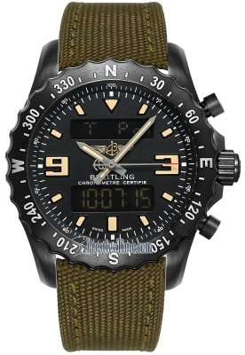 Breitling Chronospace Military m7836622/bd39/105w