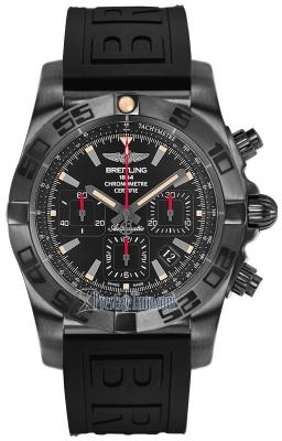 Breitling Chronomat 44 Blacksteel mb0111c3/be35/153s.m