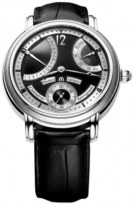 Maurice Lacroix Masterpiece Calendrier Retrograde Manual Wind mp7068-ss001-390
