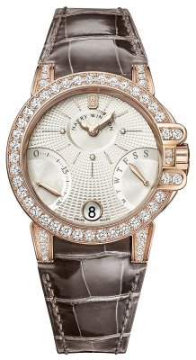 Harry Winston Ocean Lady Biretrograde 36mm oceabi36rr022