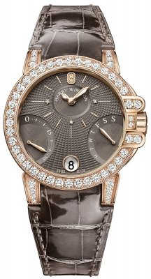 Harry Winston Ocean Lady Biretrograde 36mm oceabi36rr023