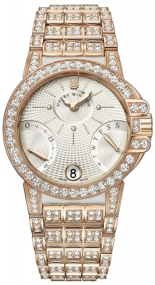 Harry Winston Ocean Lady Biretrograde 36mm oceabi36rr029