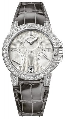 Harry Winston Ocean Lady Biretrograde 36mm oceabi36ww041