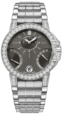 Harry Winston Ocean Lady Biretrograde 36mm oceabi36ww043