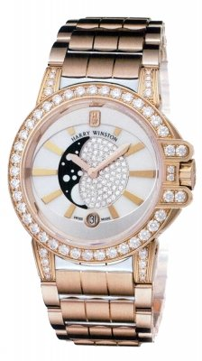 Harry Winston Ocean Lady Moon Phase 36mm oceqmp36rr010