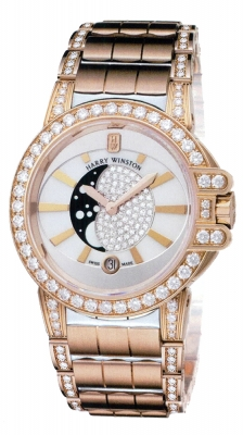 Harry Winston Ocean Lady Moon Phase 36mm oceqmp36rr014