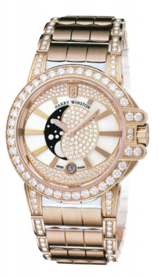 Harry Winston Ocean Lady Moon Phase 36mm oceqmp36rr015