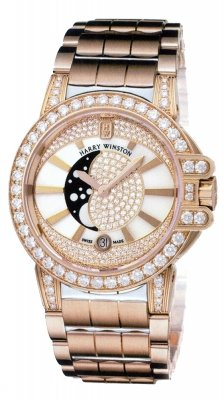 Harry Winston Ocean Lady Moon Phase 36mm oceqmp36rr020
