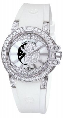 Harry Winston Ocean Lady Moon Phase 36mm oceqmp36ww001