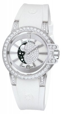 Harry Winston Ocean Lady Moon Phase 36mm oceqmp36ww003