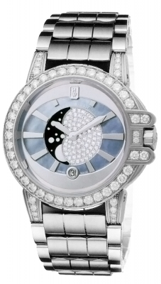 Harry Winston Ocean Lady Moon Phase 36mm oceqmp36ww006