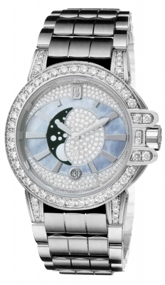 Harry Winston Ocean Lady Moon Phase 36mm oceqmp36ww007