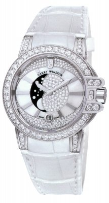 Harry Winston Ocean Lady Moon Phase 36mm oceqmp36ww009