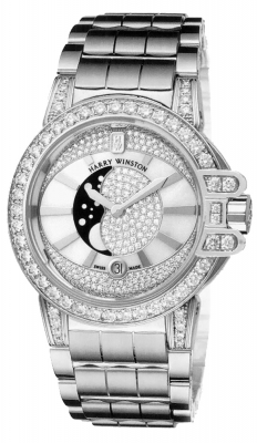 Harry Winston Ocean Lady Moon Phase 36mm oceqmp36ww010