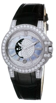 Harry Winston Ocean Lady Moon Phase 36mm oceqmp36ww011