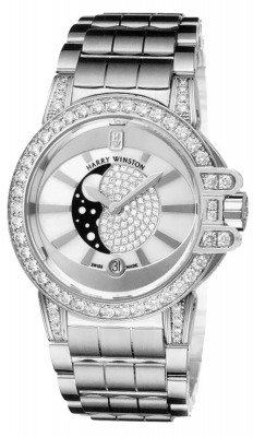 Harry Winston Ocean Lady Moon Phase 36mm oceqmp36ww015