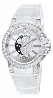 Harry Winston Ocean Lady Moon Phase 36mm oceqmp36ww018