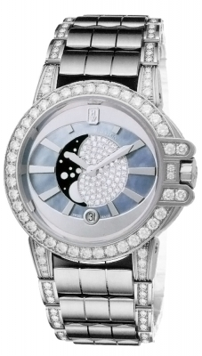 Harry Winston Ocean Lady Moon Phase 36mm oceqmp36ww020