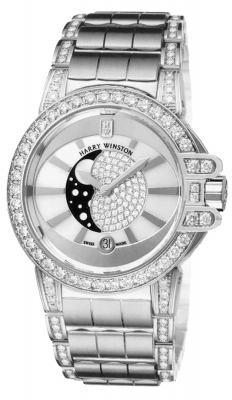 Harry Winston Ocean Lady Moon Phase 36mm oceqmp36ww021