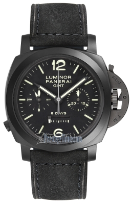 Panerai Luminor Chrono Monopulsante 8 Days GMT 44mm pam00317