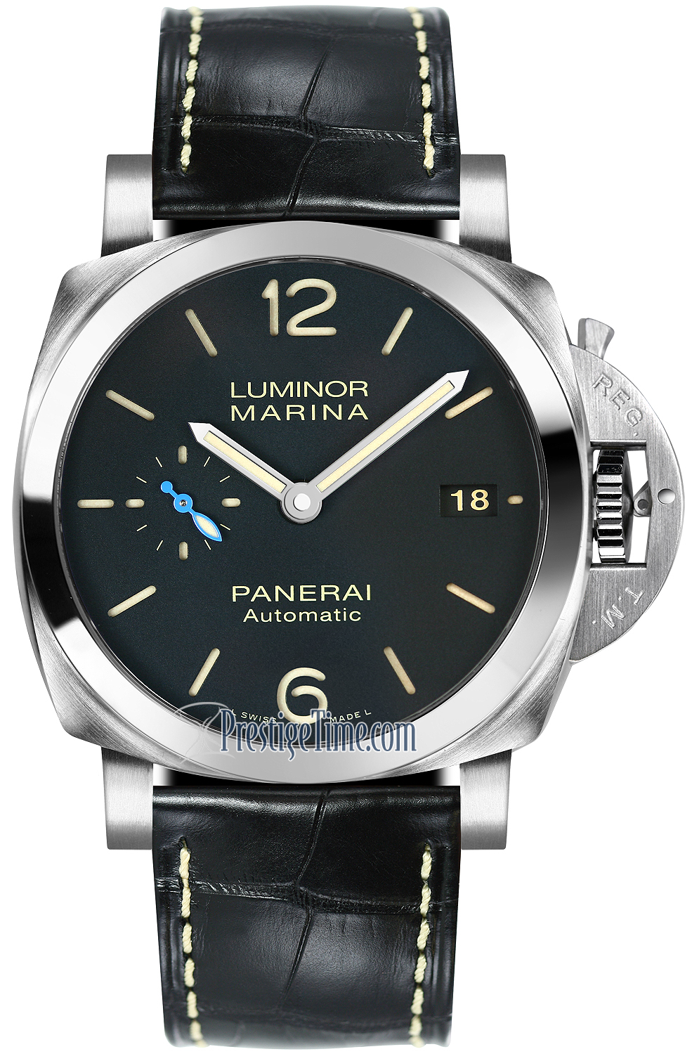 pam01392 panerai luminor marina 1950 3 days automatic 42mm mens watch. Black Bedroom Furniture Sets. Home Design Ideas