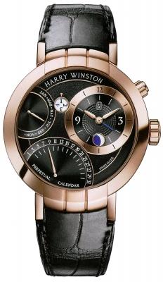 Harry Winston Premier Excenter Perpetual Calendar 41mm prnapc41rr001