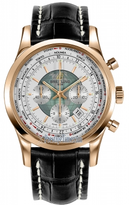 Breitling Transocean Chronograph Unitime rb0510uo/a733-1cd