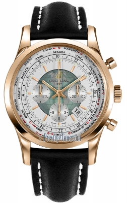 Breitling Transocean Chronograph Unitime rb0510uo/a733-1lt